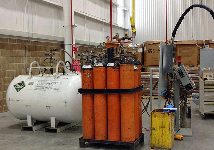 Nitrogen Supply Tanks - 12 pack